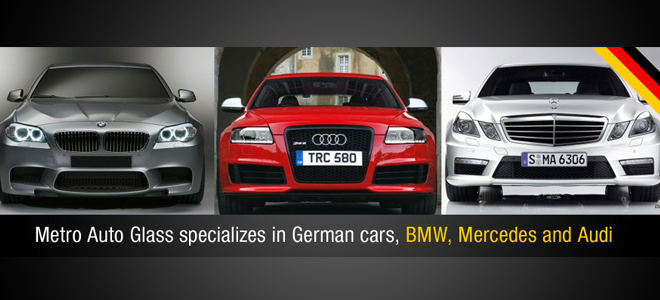 Specializing in German cars including BMW, Mercedes Benz and Audi
